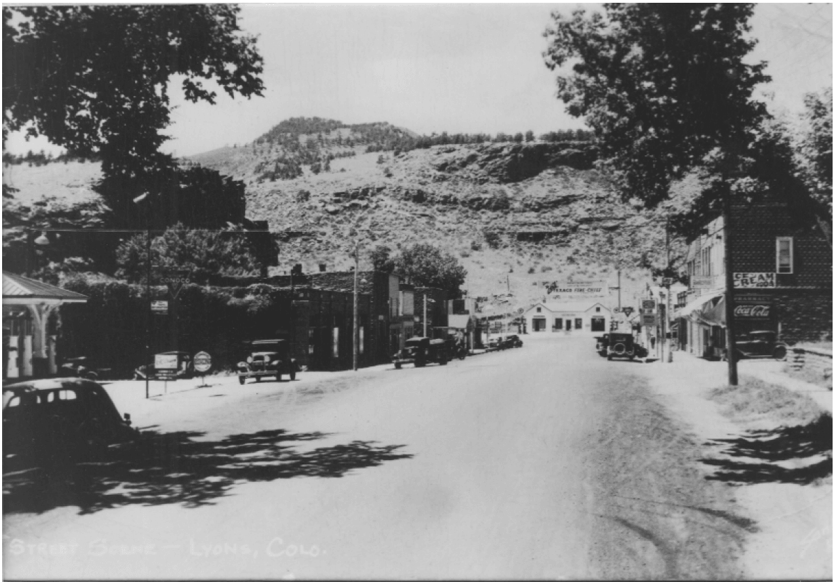 Downtown Lyons_courtesy Redstone Museum