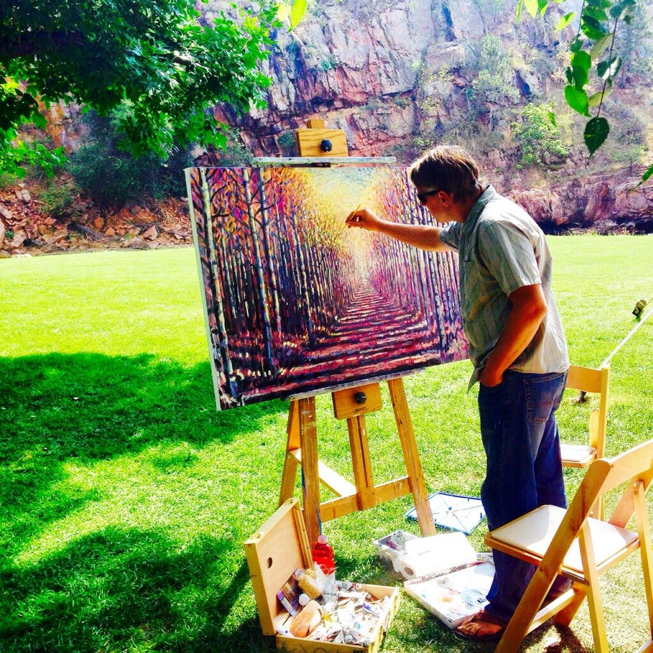 Art at River Bend_Hollingsead_Photo by Lauren Click
