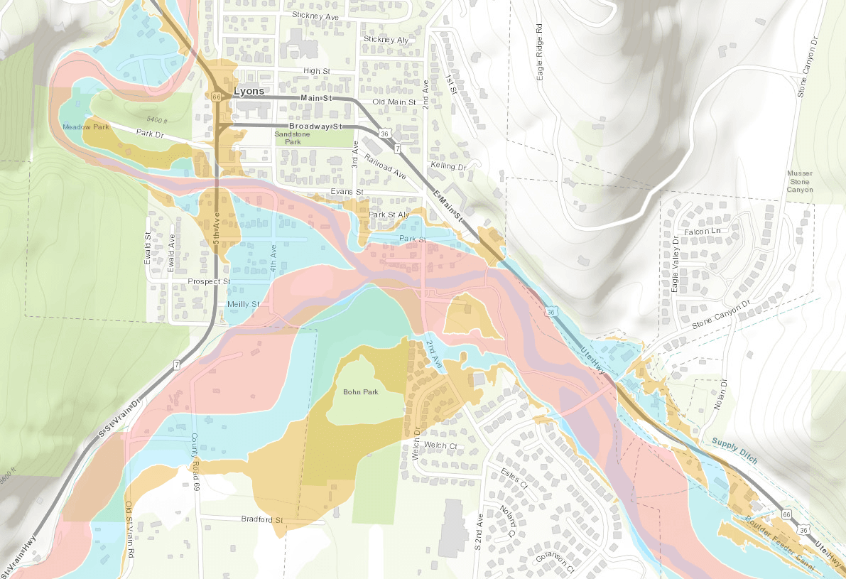 Preliminary Floodplain Map 2020
