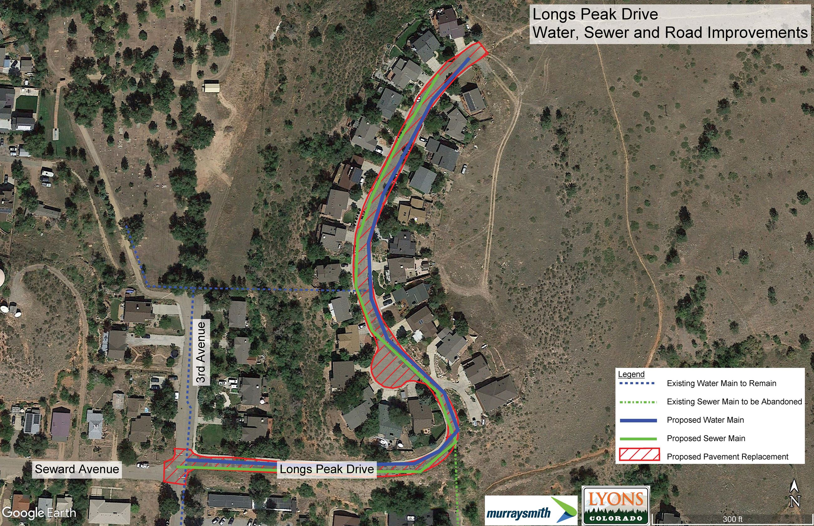 Longs Peak Drive Improvements Exhibit